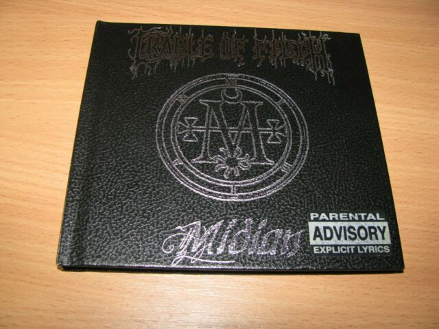 CRADLE OF FILTH - Midian (2001 Music For Nations UK 1st press, LIMITED DIGIBOOK)