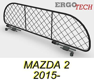 Divisorio Griglia Rete Divisoria per MAZDA 2 2015 Trasporto cani e bagagli.