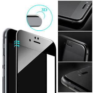 Apple iPhone 6 6s 7 8Plus X 3D Curve Full Tempered Glass Coverage Film Protector