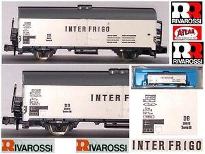 RIVAROSSI-ATLAS-2461-VINTAGE-VAGONE-MERCI-INTERFRIGO-REEFER-CAR-DB-BOX-SCALA-N