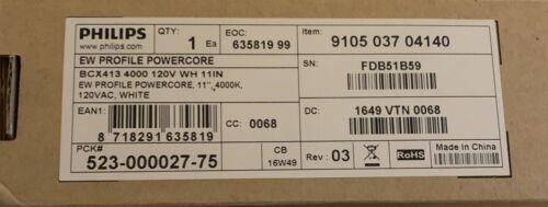 "EW Profile PowerCore BCX413 4000K 120v White 11/"" 523-000027-75 120AC"