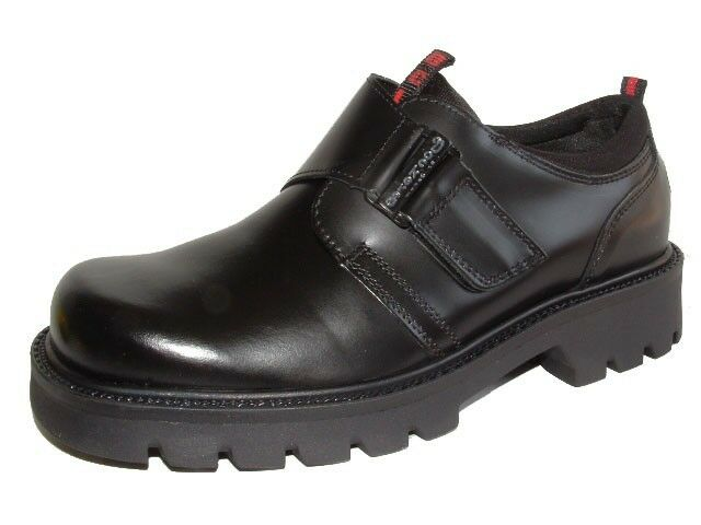NEU Dockers Herrenschuhe Schuhe Halbschuhe Klettverschluss Lederschuhe Boots