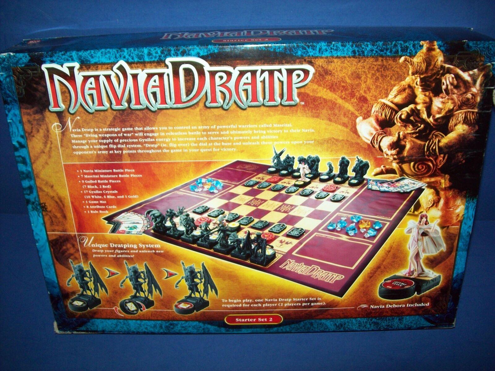 NAVIA DRATP Collectible Collectible Collectible Miniatures Board Game Starter Set 2 Deboarah Figure New ade3c4