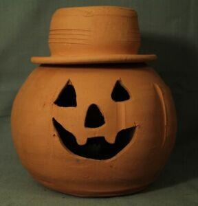 vintage Terra Cotta Jack-o'-lantern Pumpkin Hat Craven ...