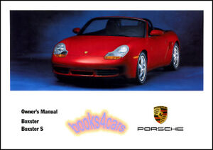 boxster owners manual 2001 porsche book s convertible handbook 01 rh ebay com Top Speed 2001 Boxster S 2001 Boxster S Reliability