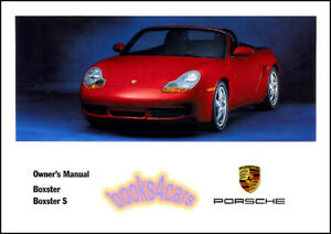 boxster owners manual 2001 porsche book s convertible handbook 01 rh ebay com 1997 Porsche Boxster Problems 1997 Porsche Boxster Review