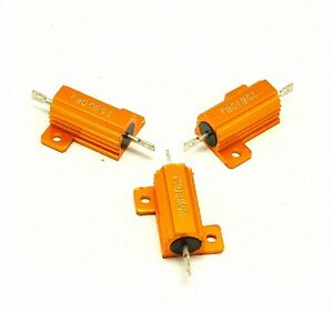 120-Ohm-120R-25W-Watt-Power-Metal-Shell-Case-Wirewound-Resistor