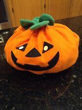 Build a bear pumpkin costume plush