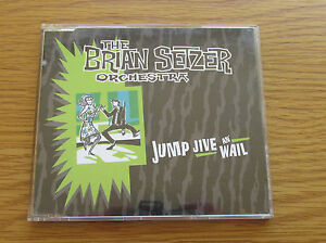THE-BRIAN-SETZER-ORCHESTRA-Jump-Jive-amp-Wail-1998-UK-3-TRACK-CD-SINGLE-STRAY-CATS