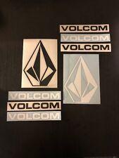 "Volcom StoneTeam Rider Sticker Pack 3pcs 10/""-7/"" Skate Surf Snow Car Decal"