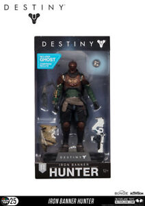 Destiny Hunter Iron Banner Shader #25 Color Tops 18 cm Action Figur McFarlane