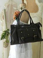 Genuine Oriano Designerbrown Leather Handbag/shoulder Bag/shopper/totegiftbn