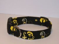 Wet Nose Designs University Of Iowa Hawkeyes Bandana Dog Collar Ncaa Herky