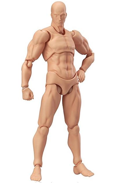 Figma Action Figure # 01 Max Factory Flesh Color Ver FIGMA ARCHETYPE He