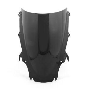 Pare-brise-Bulle-WindScreen-Pour-Triumph-Daytona-675-2009-2012-Black