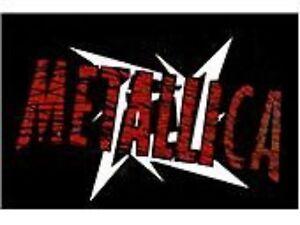 METALLICA-ninja-logo-2004-WOVEN-SEW-ON-PATCH-official-no-longer-made