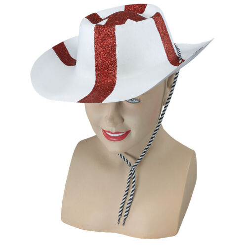 ST George FLOCK Cowboy Inghilterra Cappello Costume Adulto