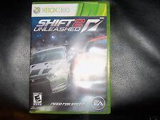 Shift 2 Unleashed: Limited Edition  (Xbox 360, 2011) EUC