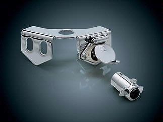 Goldwing GL1800 GL1500 Trailer Hitch Receptacle Chrome K9183