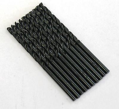 "135 Split Point Tip M2 High Speed Steel 1//2/"" Black Oxide Drill Bit 5 pk"