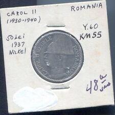 Romania 50 Lei, 1937