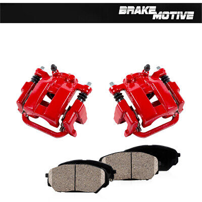 Rear OE Brake Calipers and Rotors /& Pads For INFINITI G35 M35 M45 NISSAN 350Z
