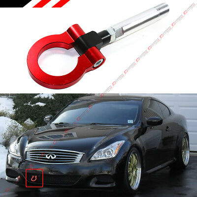 Color : Blue XJB-LMLS Folding Ring Screw On Front Rear Bumper Tow Hook For Nissan 350Z 370Z GTR EP-RTHLPH014