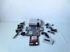 Nintendo NES Konsole PAL + 4x Controller + 6x Spiele + 4er Adapter Four Scoure