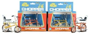 Orange + Yellow Raleigh Chopper MK1 Collectable Diecast Model The Hot One!