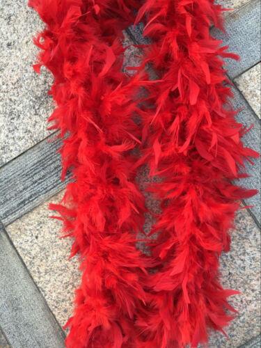 Chandelle Feather Boa Fluffy Turkey Feather Boa 80g 2 Yards Thick Luxuary Boas