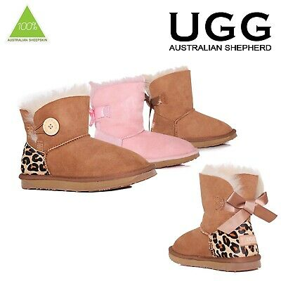 Details about EVER UGG BOOTS Velcro baby boots Chestnut size L ( 14.5cm )