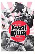 Karate Killer Poster 01 Metal Sign A4 12x8 Aluminium