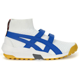 ASICS Onitsuka Tiger AP Knit Trainer White/Imperial Shoes 1183A418.100 NEW
