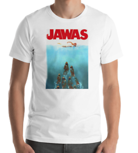 Star Wars Jawas Jaws Spoof T-shirt Sizes S to 3XL