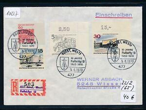 10227) Spécial R-mot Soest Flarakrgt 13, Brf Sst 5.6.70 Gs Violet R!-afficher Le Titre D'origine