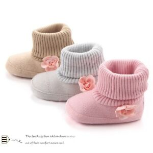 Baby-Girl-Newborn-Knitted-Warm-Ankkle-Snow-Boots-Toddler-Infant-Shoes-Booties