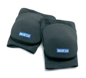00155EN-SPARCO-KARTING-KART-ELBOW-PADS-PAIR-BLACK-ONE-SIZE-GENUINE-SPARCO
