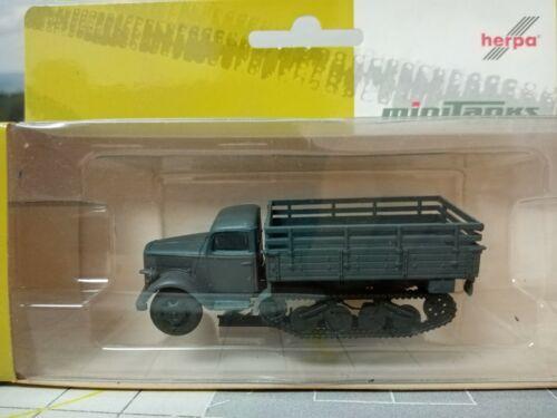 "Herpa Roco Minitanks 1:87  Opel Blitz /""Maultier/"" Pritsche 746324"