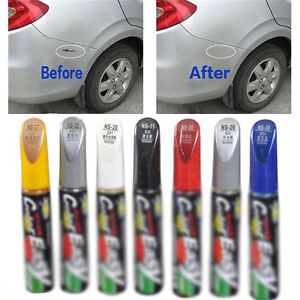 1x auto paint repair pen brush diy car clear scratch remover touch image is loading 1x auto paint repair pen brush diy car solutioingenieria Choice Image
