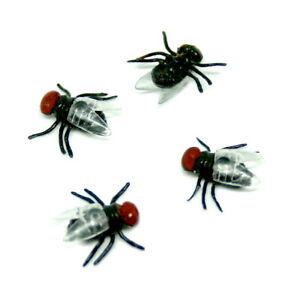 10er Pack Spinnen Kakerlaken Spider Halloween Deko Grusel Spinnen