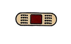 Patch-embroidered-iron-on-cloth-badges-kawaii-biker-dressing-bandage-applique