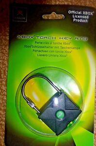 XBOX officiel Porte-clés & aux flambeaux Working Enveloppé CONSOLE RETRO NEUF 360 Entièrement neuf dans sa boîte