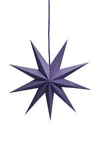 Weihnachtsdeko Lila.Details Zu Leuchtstern Weihnachtsstern Weihnachtsdeko Stern Gräfsnäs Lila 72cm Beleuchtet