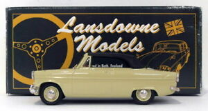 Lansdowne-Modelos-Escala-1-43-LDM23-1962-Ford-Consul-Mk-II-Convertible-Verde
