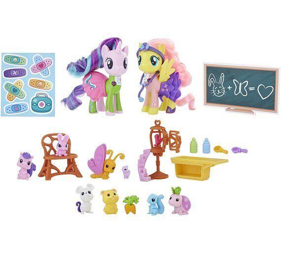 My Little Pony Fluttershy y Starlight Brillante Doctors Diadema y Estetoscopio