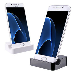 universal micro usb ladeger t dockingstation handy laden f r samsung huawei lg ebay. Black Bedroom Furniture Sets. Home Design Ideas