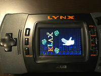 Atari Lynx II Portable Game System with new TFT Screen, Amazing picture! VGA out