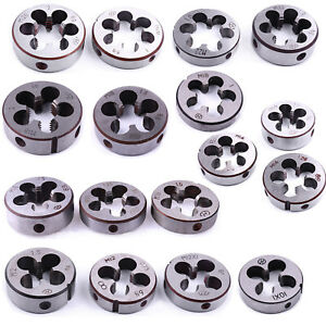 Details about M10 M12 M14 M16 M18 M20 Metric Screw Thread Cutting Die Right  Hand 0 75-2 0mm
