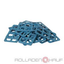 100 Gitterklötze Gitterklotz Kunststoff 160x50x15mm Montage Ausgleich Unterleger