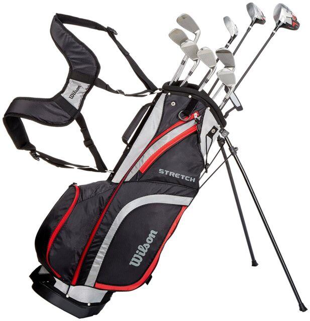 Lefthand Wilson Prostaff Stretch XL Golf Complete Set 2018 6-SW Wood Hybrid
